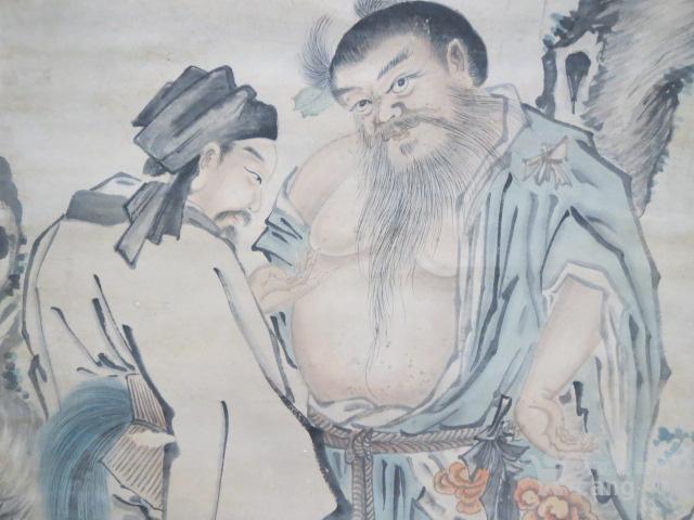 吴伟人物中堂图5