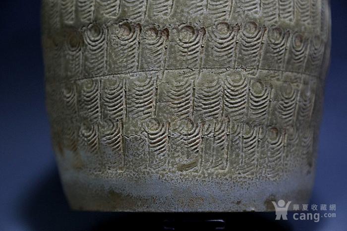 原始青瓷印纹筒形罐图9