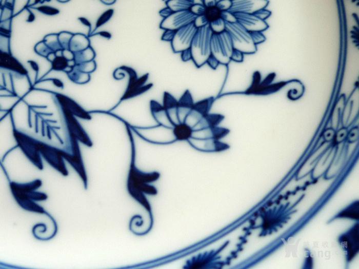 德国麦森1924 34青花瓷盘一对 欧洲名瓷翘楚图4