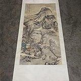 清代潘恭寿山水作品立轴