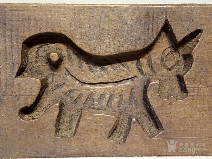 华夏古玩城 杂项 其它 > 清代木雕动物月饼模  年代:清 品相:全品