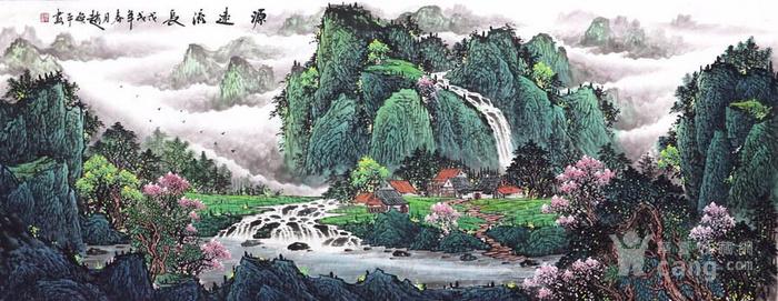 赵焕平  183 小六尺山水图5