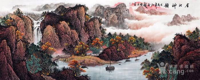 赵焕平  183 小六尺山水图7