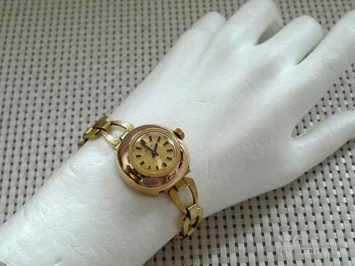 德国原产格拉苏蒂女士机械腕表 14K镀金,防水图6