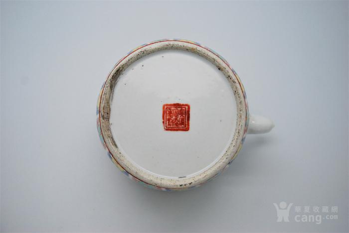 清 粉彩八宝纹茶壶d70图10