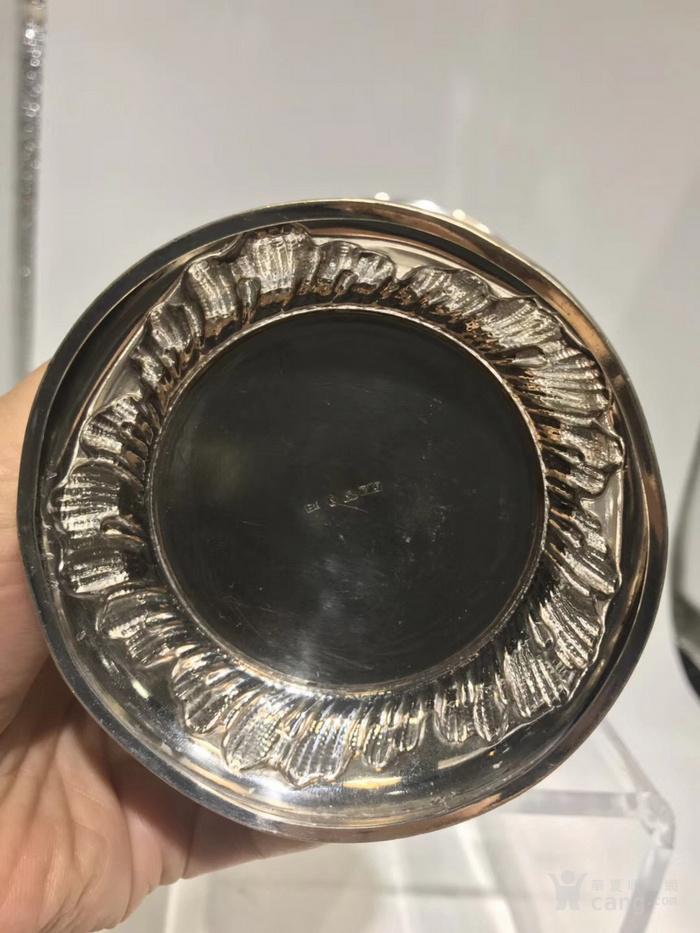 欧洲古董纯银花瓶图5