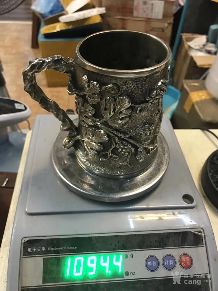 罕有19世纪意大利古董大银杯图5