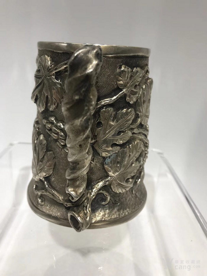 罕有19世纪意大利古董大银杯图2