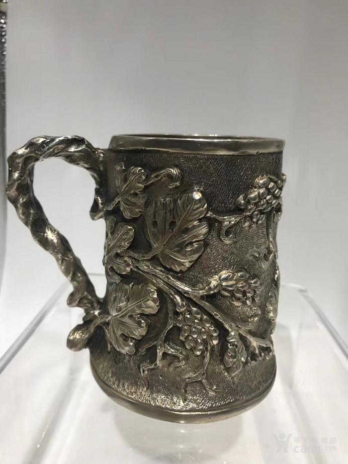 罕有19世纪意大利古董大银杯图3
