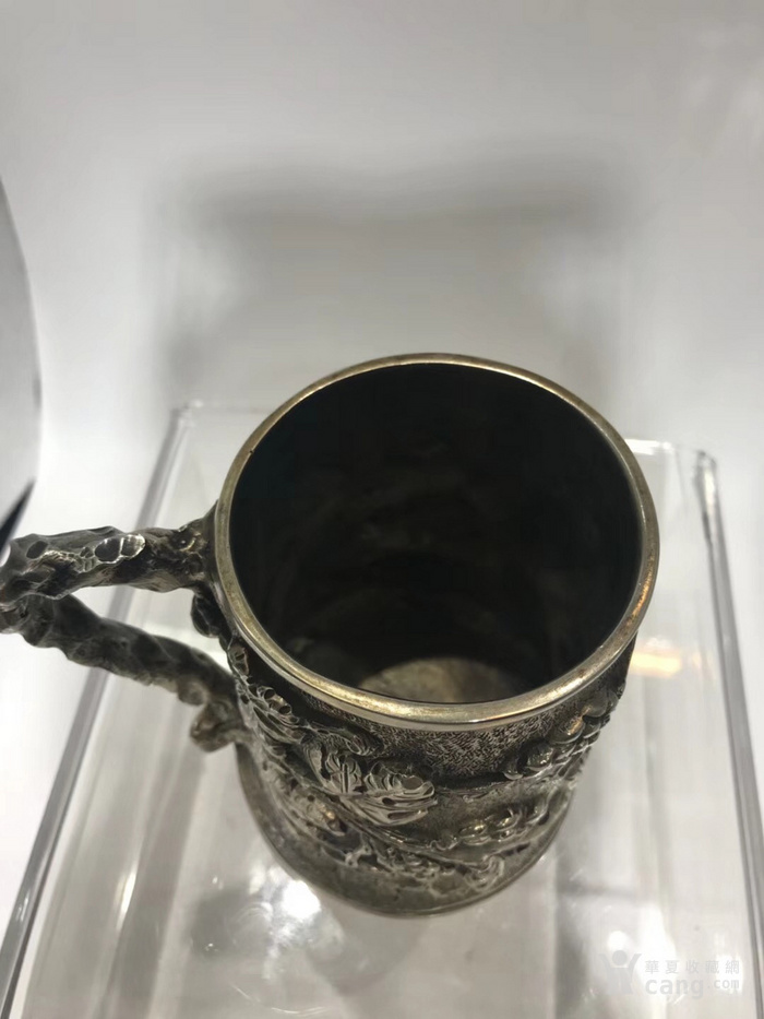罕有19世纪意大利古董大银杯图4