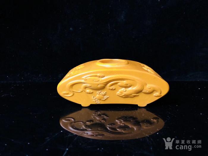 博物馆珍藏级 龙凤造型文房器具 水盂图4