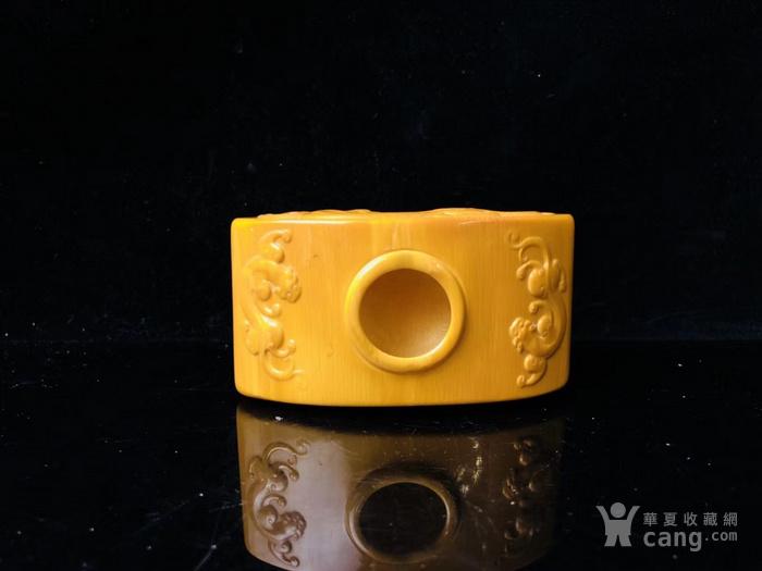 博物馆珍藏级 龙凤造型文房器具 水盂图5