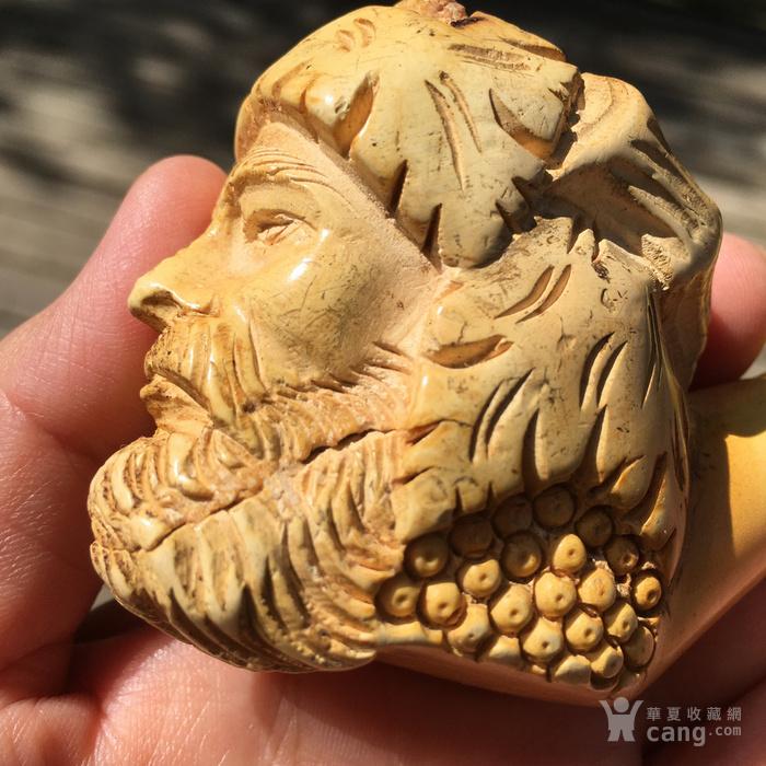 印第安河回流 大几十年的欧洲海泡石雕刻烟斗图4