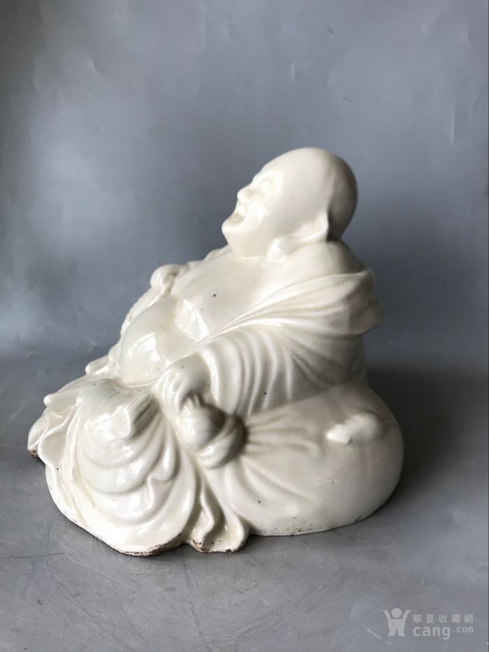 定窑白瓷弥勒佛老窑瓷器图2