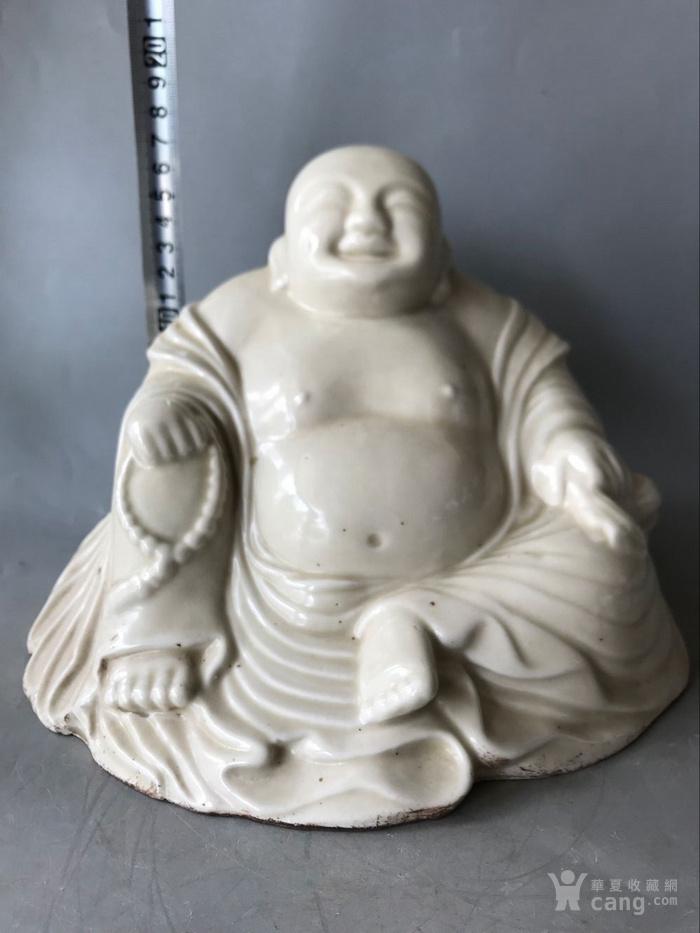 定窑白瓷弥勒佛老窑瓷器图1