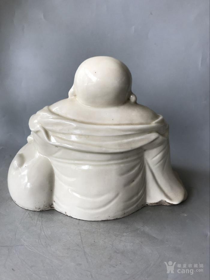 定窑白瓷弥勒佛老窑瓷器图3