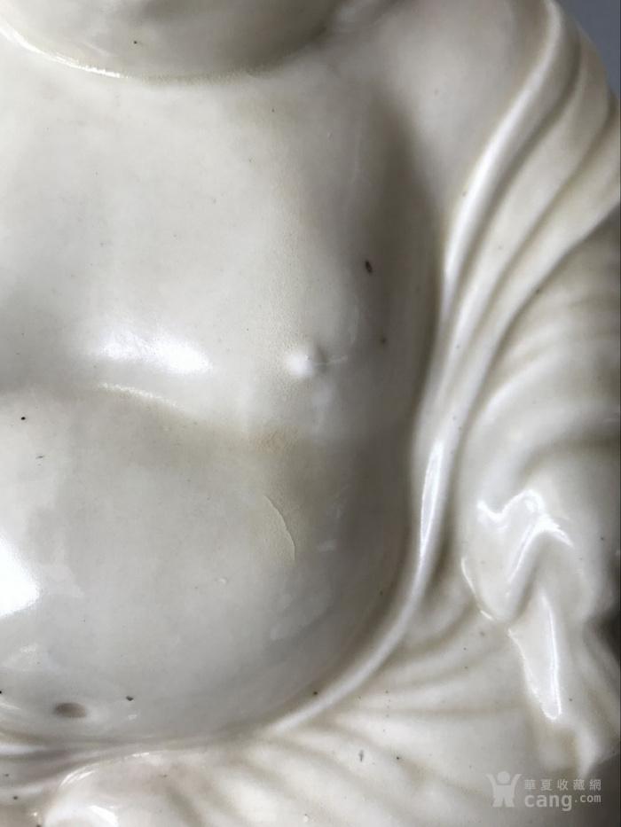 定窑白瓷弥勒佛老窑瓷器图5
