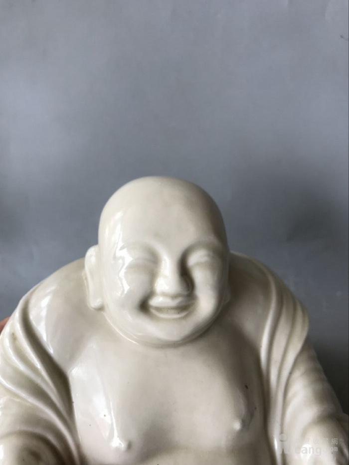 定窑白瓷弥勒佛老窑瓷器图4