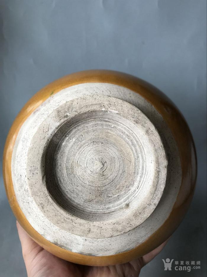 磁州窑花釉玉壶春瓶老窑瓷器图6