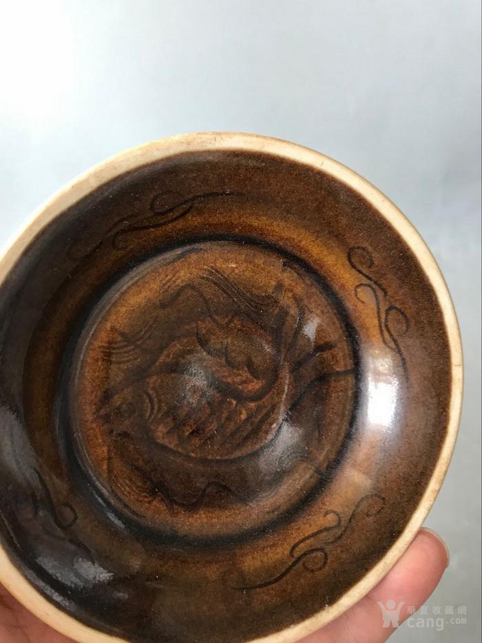 紫定小盘子老窑瓷器图5