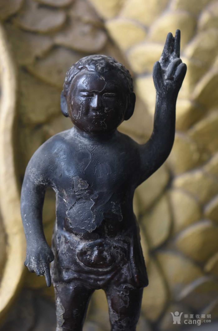 铜指天指地佛图2
