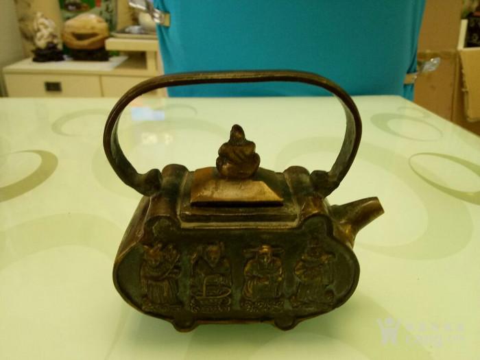 金铜壶《八仙过海》 铜壶图4