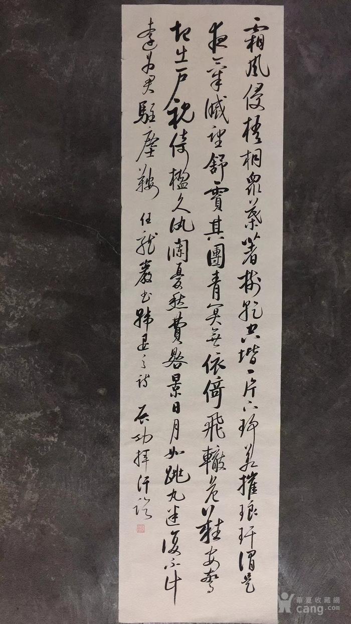 启功 雍正皇帝第九代孙   书法软片  寻有缘人收藏图5