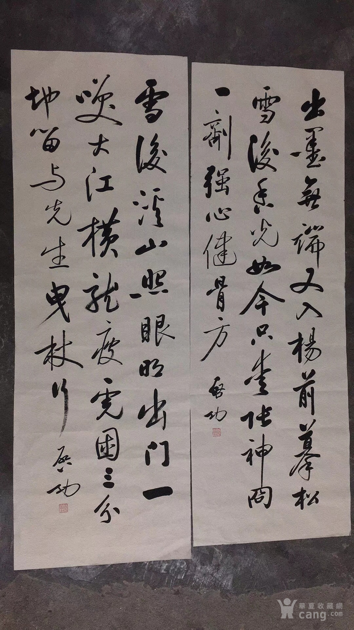 启功 雍正皇帝第九代孙   书法软片  寻有缘人收藏图7