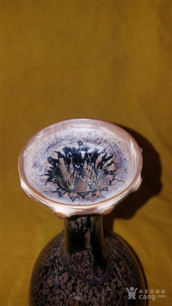 窑变釉赏瓶图2