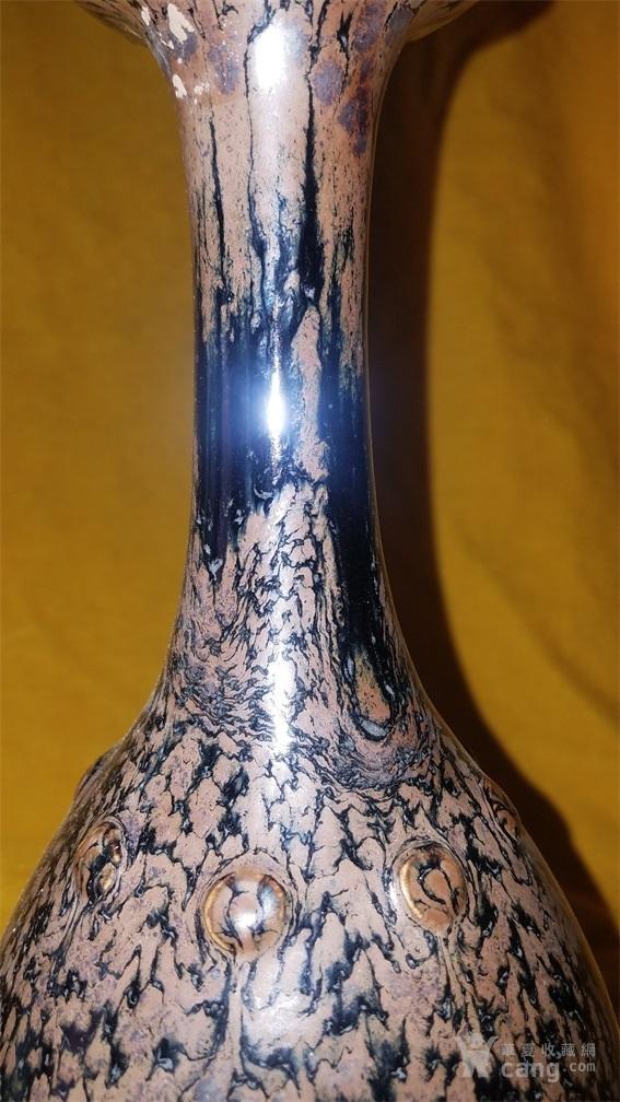 窑变釉赏瓶图3