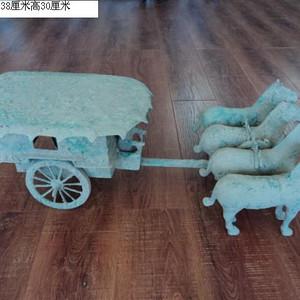传世青铜马车