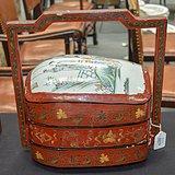 中国民国时期的漆包盒