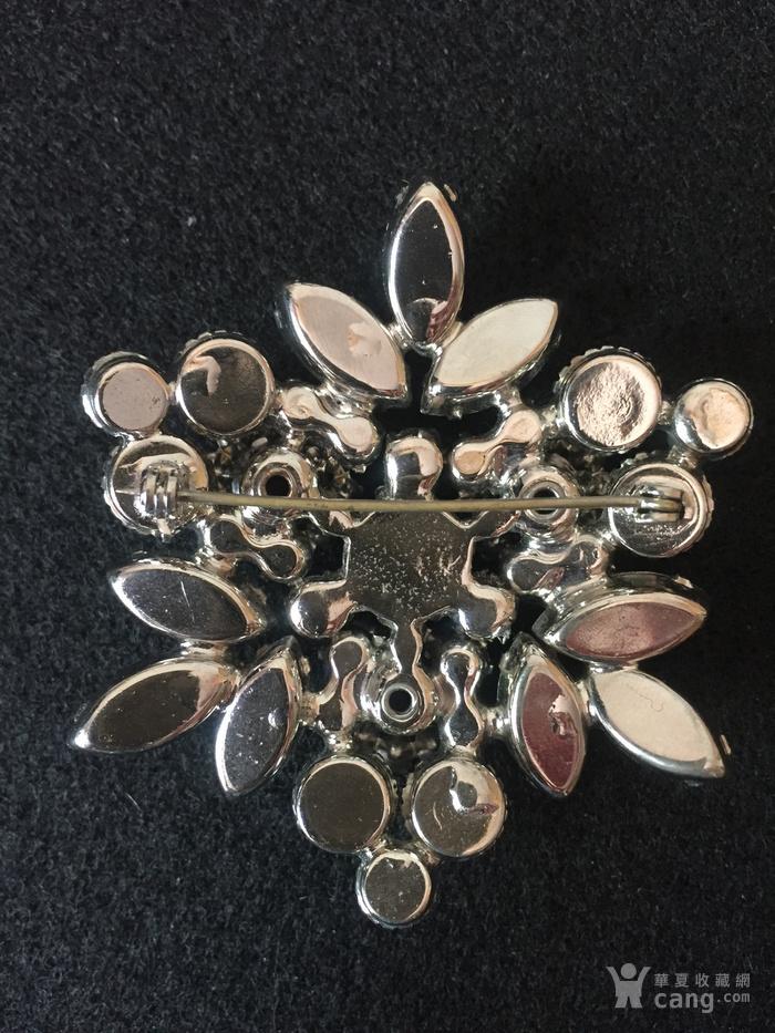 美国回流兴业坊 欧美古董奥地利水晶胸针。豪华型。图4