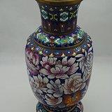 景泰蓝 花卉瓶