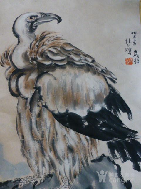 徐悲鸿鹰作品图3