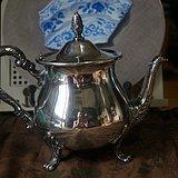 欧洲镀银咖啡壶