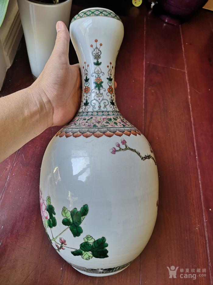 蒜头瓶高42公分图3