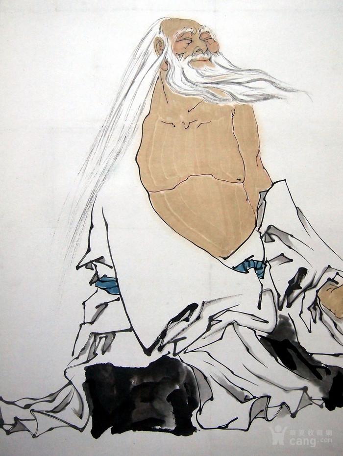 当代著名画家家 范曾《老子》图3