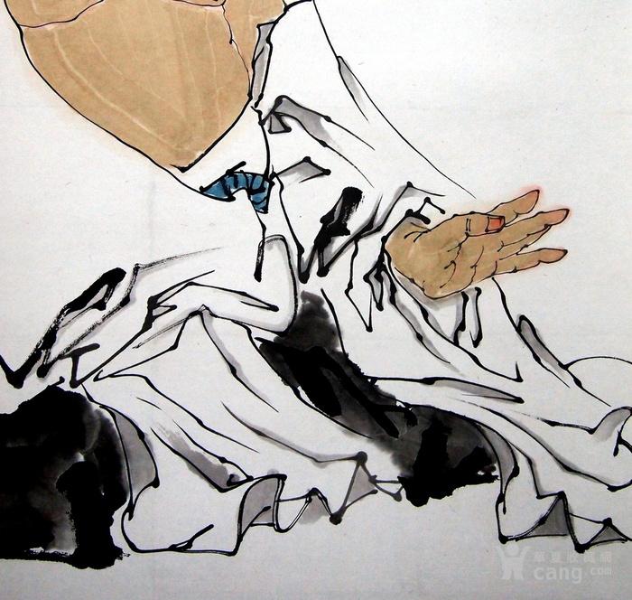 当代著名画家家 范曾《老子》图4