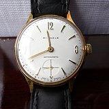 德国名牌男士机械镀金手表