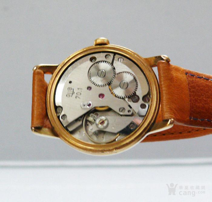 60年代原产格拉苏蒂男士机械腕表 17颗宝石图4
