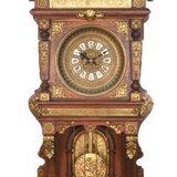 欧洲大型实木浮雕大型挂钟