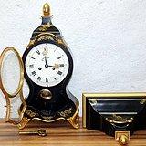 古董德国壁炉钟一台
