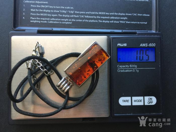 Q4919 波罗的海天然琥珀纯银绳链图11