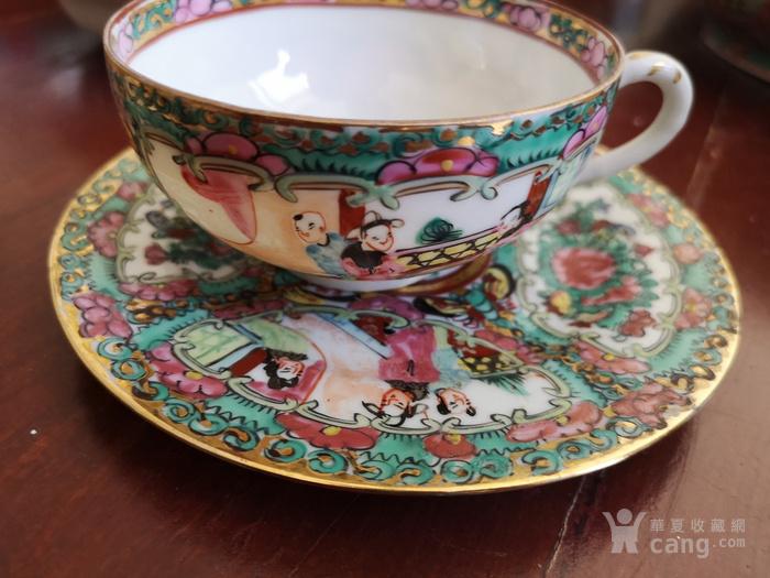 广彩四件一套茶杯图7