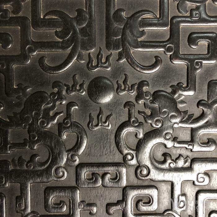 清代传世紫檀满工雕刻龙纹多层捧盒收纳盒古玩杂项紫檀盒图9