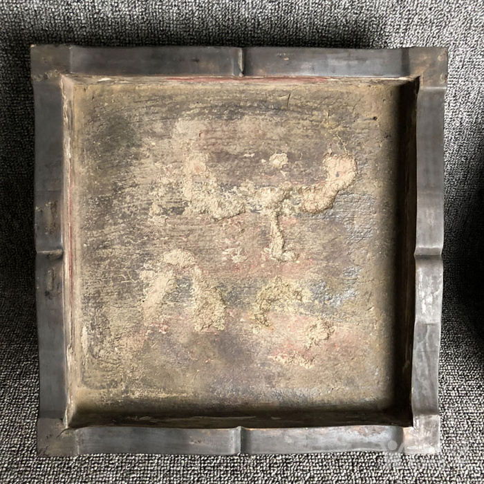 清代传世紫檀满工雕刻龙纹多层捧盒收纳盒古玩杂项紫檀盒图11