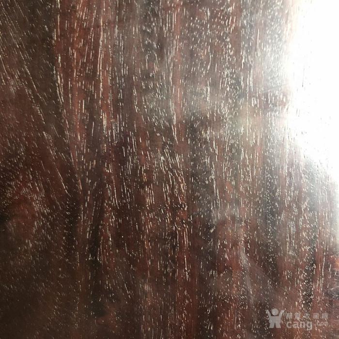 清代紫檀素面首饰盒古玩木艺紫檀牛毛纹首饰盒收纳盒摆件图6