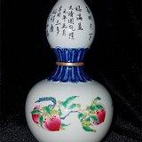 斗彩福寿葫芦瓶