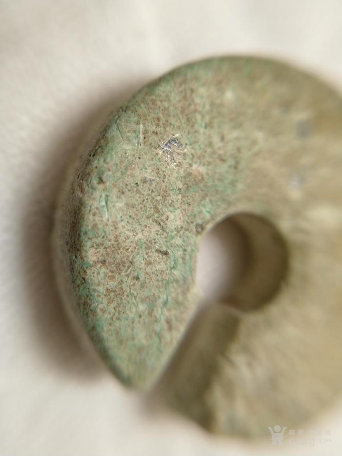 龙山文化时期 石质玦图3